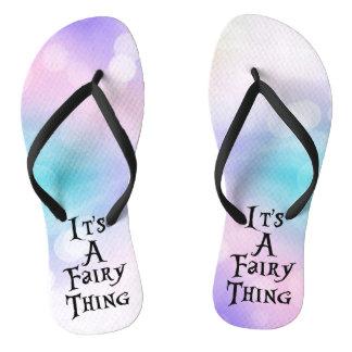 It's A Fairy Thing Flip Flops