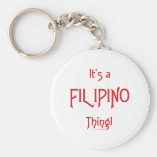 It's a Filipino Thing! Keychain