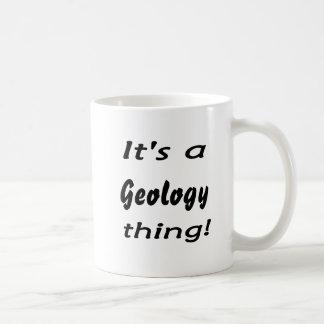 It's a geology thing! coffee mug