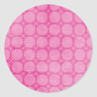 It's a girl Baby Announcement Envelope Seal Round Sticker