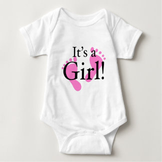 Its a Girl - Baby, Newborn, Baby Shower Baby Bodysuit