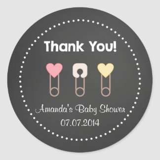 It's A Girl Baby Shower Thank You Stickers