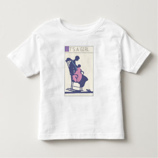 <It's a Girl> by Steve Collier Toddler T-shirt