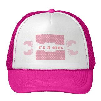 It's a Girl Cap Trucker Hat