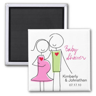 It's a Girl, Coed Baby Shower Magnet Favors