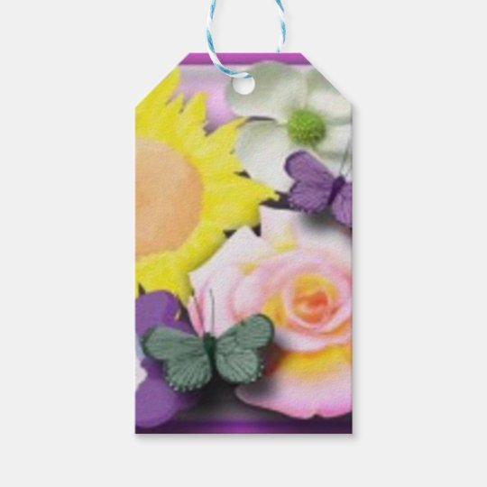 It's a girl gift tags