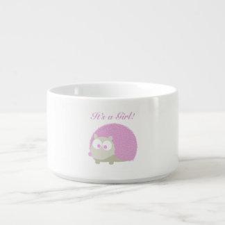 It's a girl! Hedgehog Chili Bowl