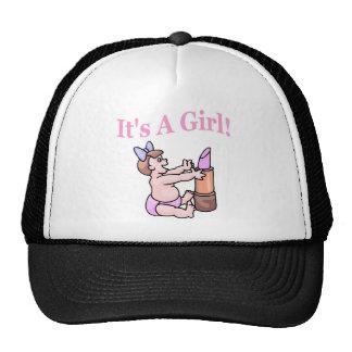 It's A Girl (Lipstick) Trucker Hat