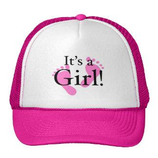 It's a Girl - Newborn, Baby, Baby shower Hats