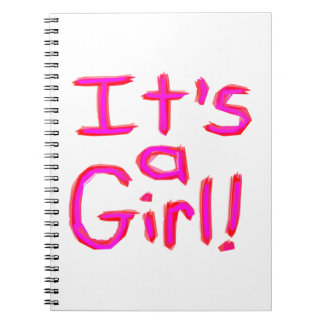 It's a Girl! Notebooks