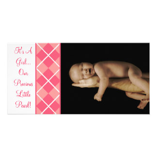 It's A Girl... Our Precious Little Pearl Photo Greeting Card