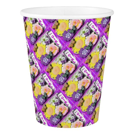 It's a girl paper cup