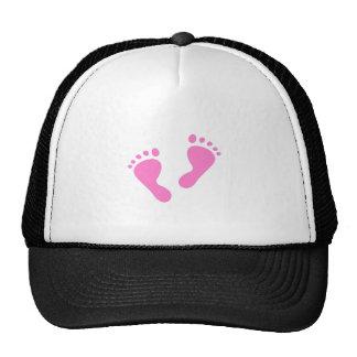 It's a Girl - Pink Baby Feet Trucker Hat