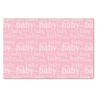 It's A Girl Pink Baby Shower Party Tissue Paper