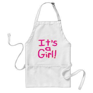 It's a Girl! Standard Apron