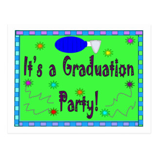 It's a Graduation Party--Respiratory Therapy Postcard