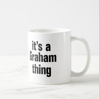 its a graham thing coffee mug