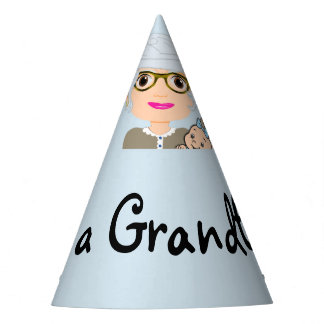 It's a Grandboy Party Hat