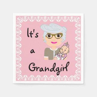 It's a Grandgirl Napkins
