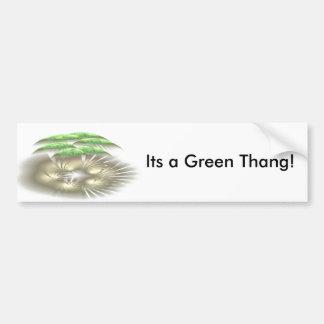 Its a Green Thang! Bumper Sticker