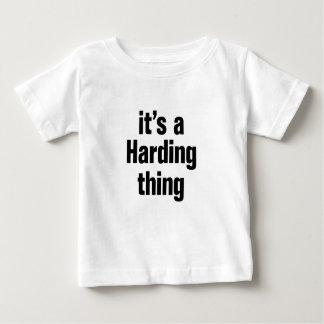 its a harding thing tshirt