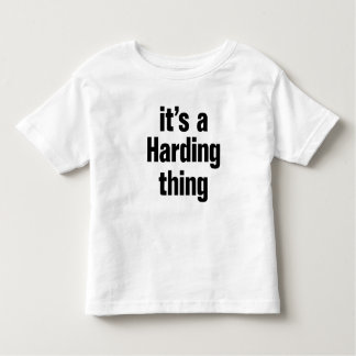 its a harding thing tshirts