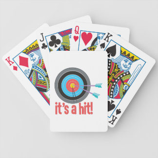 Its A Hit Bicycle Playing Cards