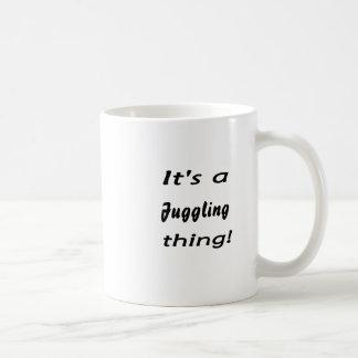 It's a juggling thing! mugs