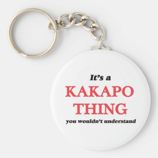 It's a Kakapo thing, you wouldn't understand Keychain