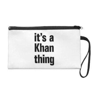 its a khan thing wristlet