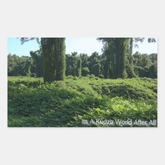 Its A Kudzu World After All Sticker