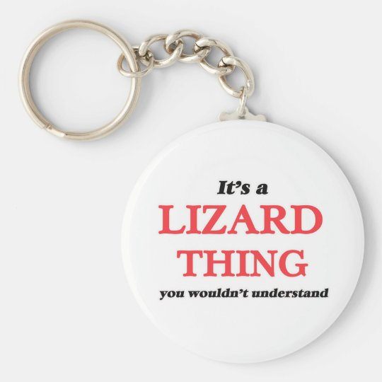 It's a Lizard thing, you wouldn't understand Keychain
