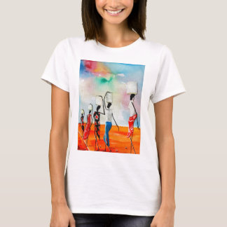 It's a Long Road To Fetch Water T-Shirt