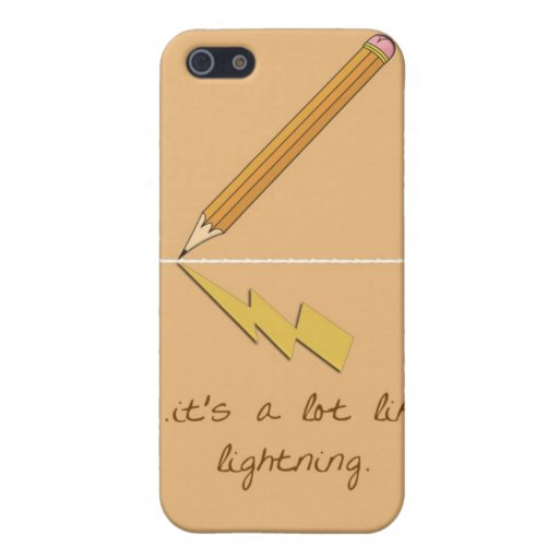 It's A Lot Like Lightning Cases For iPhone 5