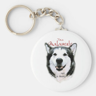 It's a Malamute Keychain