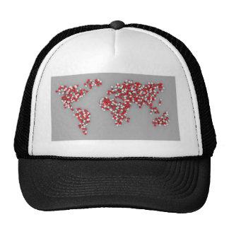 It's a map ,it's an alien ,it's a group of dots... trucker hat