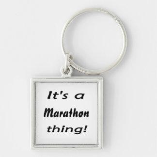 It's a marathon thing! key chains