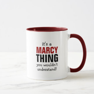 It's a Marcy thing you wouldn't understand Mug
