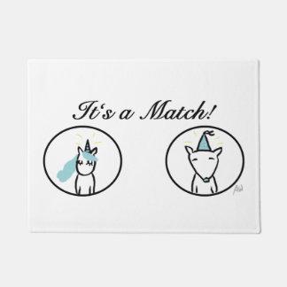 It's A match - floor mat