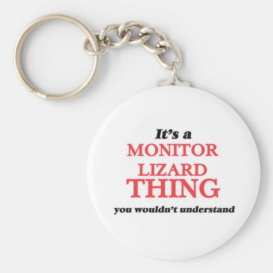 It's a Monitor Lizard thing, you wouldn't understa Keychain