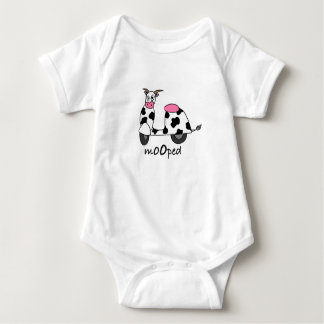 It's a Mooped! Baby Bodysuit