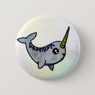 It's a Narwhal! 2 Inch Round Button