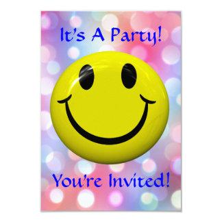 It's A Party! Fun, Colorful Invitation