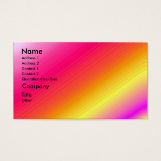 It's a Party - shaded business card template