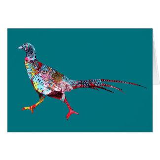 It's a pheasants life card