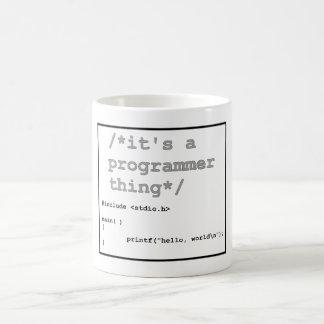 /*it's a programming thing*/ hello world coffee mug