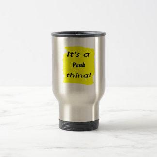 It's a punk thing! coffee mugs