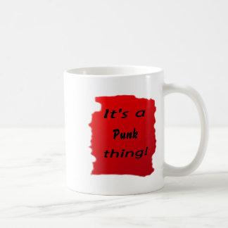 It's a punk thing! mug