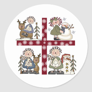 It's a Ragdoll Holiday Classic Round Sticker