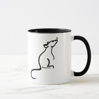 It's A Rat's World logo Mug